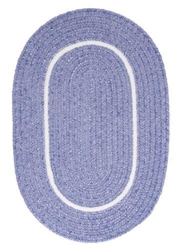 Silhouette Round Rug, 10-Feet, Amethyst