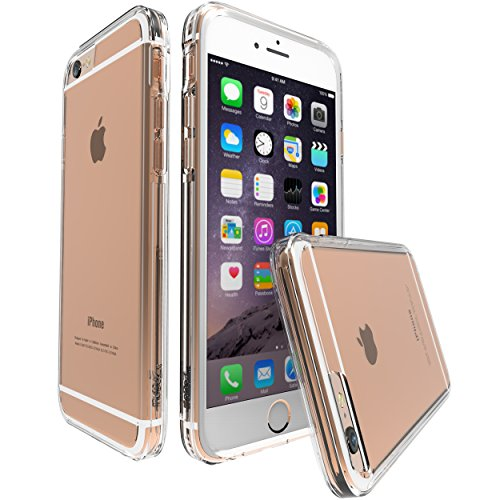 iPhone 6S Case, iPhone 6 Case, MoboZx [Premium Flexible] Innovative Dotted-Buffer Protective Slim Dual Layer Reinforced Shock-Proof Bumper Scratch-Resistant for iPhone 6/6s (Clear)