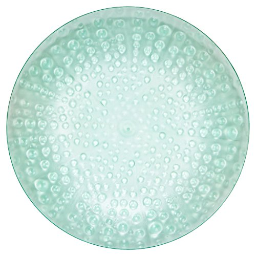 MADHOUSE by Michael Aram 12-Count Translucent Teal Luncheon Plate, Coral (Plate Shell Luncheon)