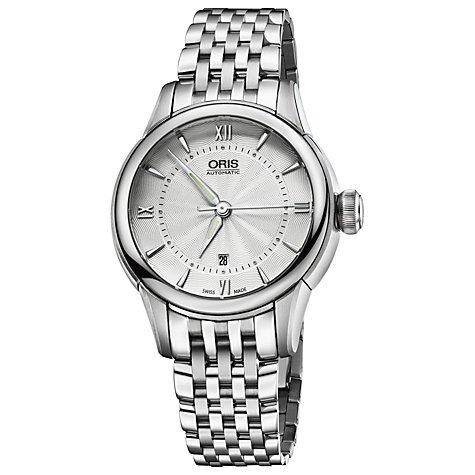Oris Artelier Silver Dial Stainless Steel Ladies Watch 561-7687-4071MB