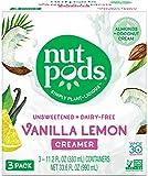 #5: nutpods NEW Vanilla Lemon Dairy-Free Creamer (3-pack) Unsweetened Whole30/Paleo/Keto/Vegan
