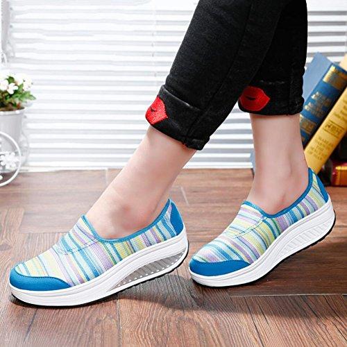 Ons y Slip de Oto Mocasines conducci Zapatos de Lienzo o Zapatos Primavera mujer 1w6z8q40