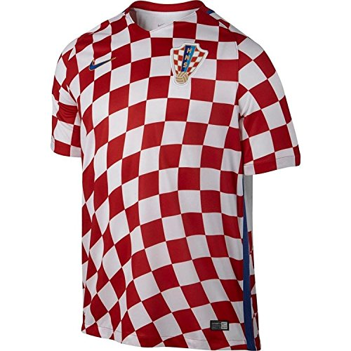 Nike 2016-2017 Croatia Home Football Soccer T-Shirt Jersey