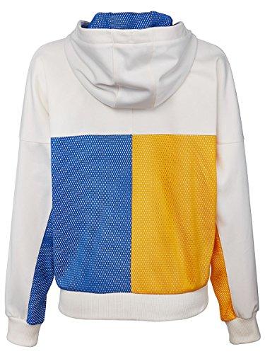 ADIDAS BR3557-F17 Women`s New York Pharrell Williams Tennis Jacket Chalk White by adidas (Image #1)