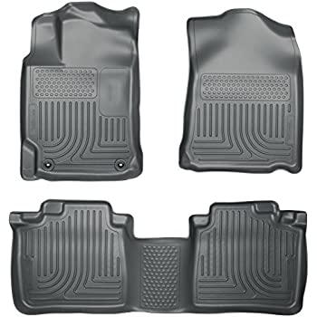 husky liners front u0026 2nd seat floor liners footwell coverage fits