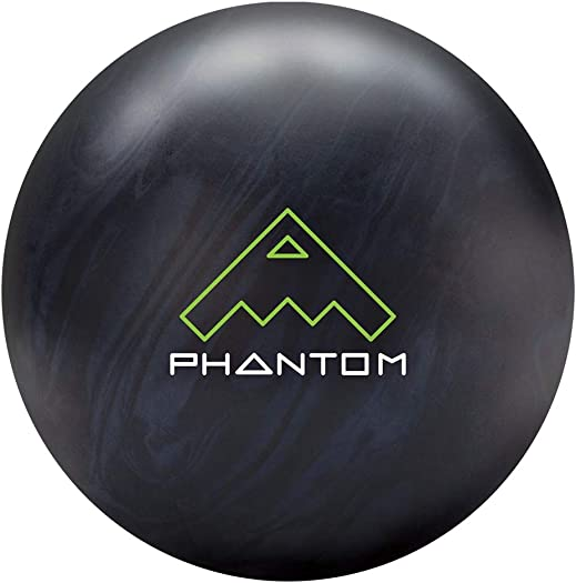 Brunswick Vintage Phantom Bowling Ball- Black Steel Grey