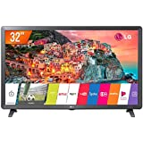 "Smart TV LED 32"" LG Full HD HDR Ativo Upscaler HD webOS 4.0 Virtual Surround Plus, 32LK615BPSB, Preto"