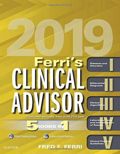 Ferri's Clinical Advisor 2019 519x8gC8MLL