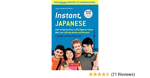 Instant Japanese How To Express Over 1 000 Different Ideas With