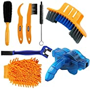 ENIVING Brush Chain Bicycle Cleaning Tools Set, Bicycle Clean Brush Kit Suitable for Mountain, Road, City, Hyb