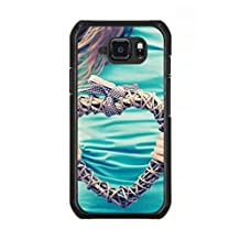 Samsung Galaxy S6 Active-Version Hard Phone Back Mobile Thin TPU Skin Case Cover For Samsung Galaxy S6 Active-Version hands heart plexus t-shirt Hot Design By [Andrea Novak]