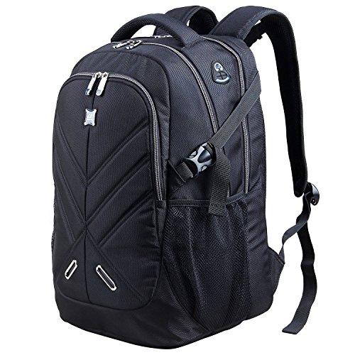Langforth Laptop Rucksack Daypack Wasserdicht Laptoptasche Notebooktasche Reiserucksack Multifunktionsrucksack Passend für bis zu 17,3 Zoll für Schule
