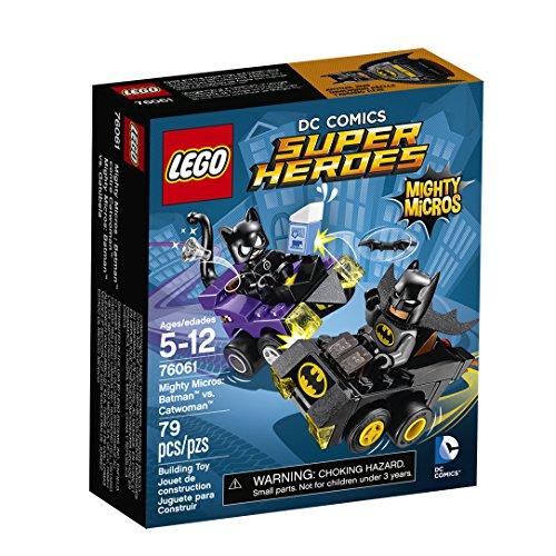 LEGO DC Comics Super Heroes Mighty Micros: Batman vs. Catwoman 76061 (Lego Old Catwoman)