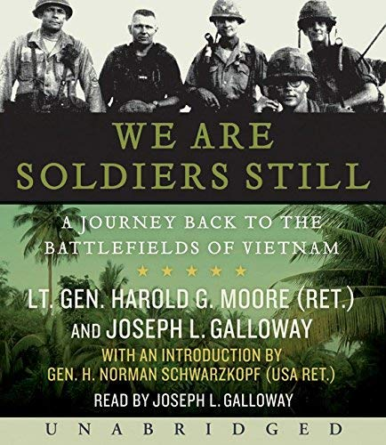 Book cover from We are Soldiers Still CD: A Journey Back to the Battlefields of Vietnam by Harold G. Moore