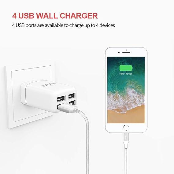 Amazon.com: Yoobao YB-703 US USB cargador de pared: Electronics
