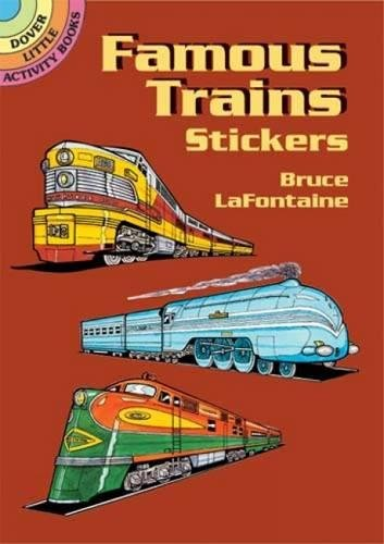 Famous Trains Stickers (Dover Little Activity Books Stickers)