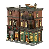 Department 56 Christmas in the City Village Soho Shops Lit House, 7.67 inch