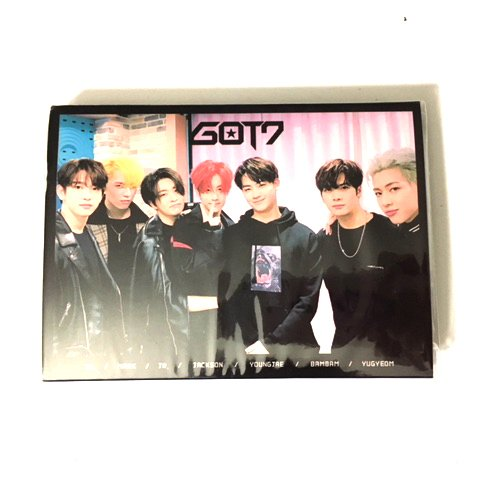 K-POP Sticky Notes (BTS, EXO, Twice, BLACKPINK, GOT7) (GOT7)