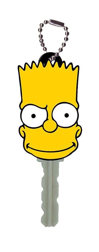 Amazon.com: Fox Bart Simpson titular de la clave llavero por ...