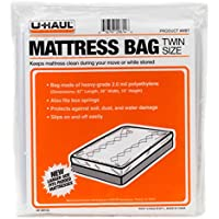 U-Haul Mattress Bag for Moving and Storage Protection - 2 Mil