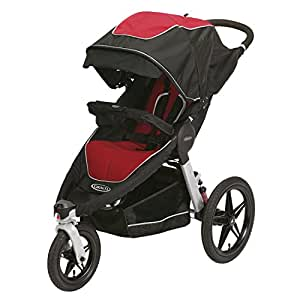 Graco Relay Click Connect Jogging Stroller, Cougar