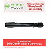 1 Dirt Devil Ultra Vision Brushroll; Fits Ultra Vision & Vision; Compare to Part # 2LC0200000; Designed & Engineered by Crucial Vacuum