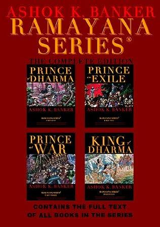book cover of Ramayana series