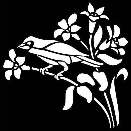 Fairydust plantillas /& Máscaras-Flores De Fondo