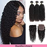 Aodai Hair--Your Best Choice!100% Unprocessed Brazilian Human Hair Bundles with Lace Closure.Our Hair is Very Clean and Natural,Very Soft,Silky,No shedding,No Tangles,Comb Easily.Our hair No Synthetic,No Animal Hair Mixed,Real Human Hair!About Lace C...