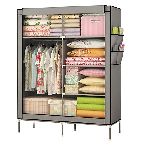 mow-wow-dustproof-wardrobe-christmas-gift-popular-closet-organizer-collection-multilayer-shelves-clo