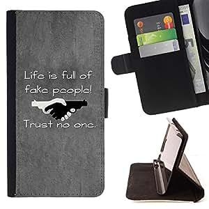 BullDog Case - FOR/HTC DESIRE 816 / - / Black & White Optical Heart /- Monedero de cuero de la PU Llevar cubierta de la caja con el ID Credit Card Slots Flip funda de cuer