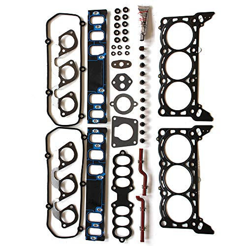 Mercury Cylinder Head Cougar (OCPTY Cylinder Head Gasket Set fits 97-98 Ford Mustang/Ford Thunderbird/Mercury Cougar Gaskets Kit Cylinder Head Gasket Set)
