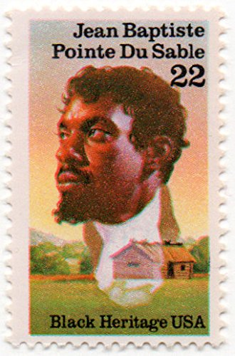 USA Postage Stamp Single 1987 Jean Baptiste Pointe Du Sable Issue 22 Cent Scott ()
