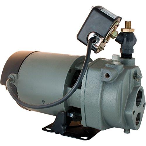 Star JHU10 1 HP Cast Iron Convertible Deep Well Jet Pump - Made in the USA