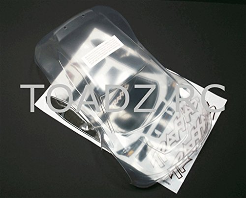 Traxxas 7311 1/16 Clear Rally Car Body with Decal Sheet