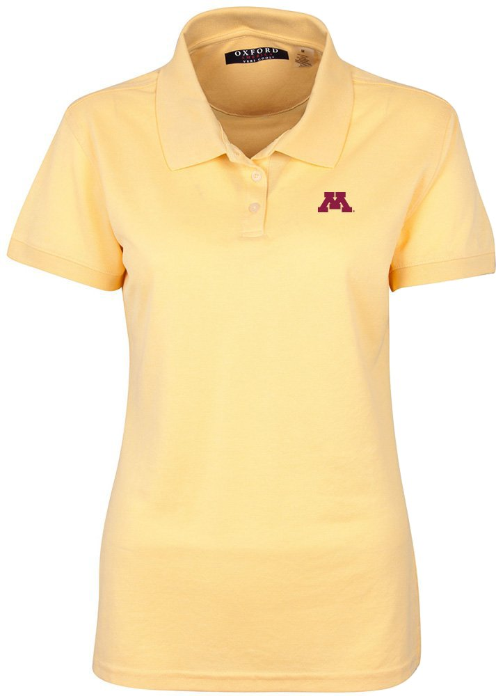 高い素材 NCAA B00KE15T8I Minnesota Golden Golden Gophersレディースソリッドピケ半袖ポロシャツ、XL、シトラス NCAA B00KE15T8I, 山武町:80211330 --- a0267596.xsph.ru