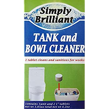 Amazon Com Simply Brilliant Tank And Toilet Bowl Cleaner