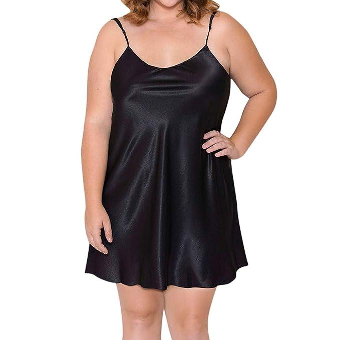 DEELIN Las Mujeres Moda Escritos Sexy Encanto Sling nighte Vestido más el tamaño de lencería Babydoll