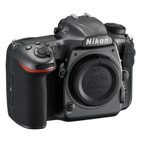 100th Anniversary Edition with 3.2-Inch LCD, Metallic Gray - Nikon D500