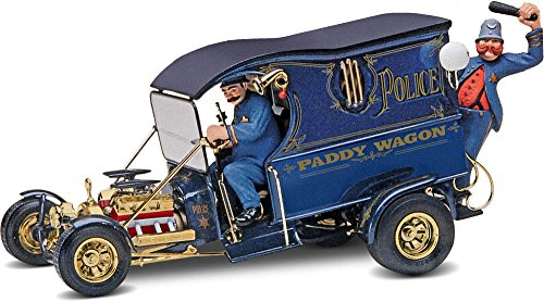 - Monogram Paddy Wagon Plastic Model Kit with Figures