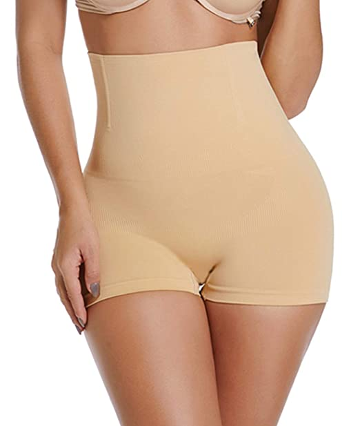 7e7291ea0d36d SURE YOU LIKE Women s Shapewear Tummy Control High Waist Body Shaper Butt  Lifter Shorts Seamless Slimmer