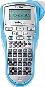 Brother PT-1005BTS - Etiquetadora (pantalla LCD), azul y plateado