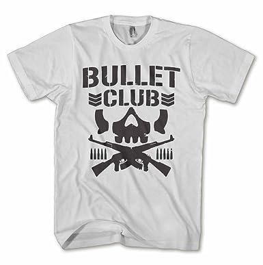 5046e52a4 Igtees Bullet Club Mens Tee  Amazon.co.uk  Clothing