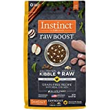 Instinct Raw Boost Grain Free Recipe with Real Chicken Natural Dry Dog Food by Nature's Variety, 10 lb. Bag