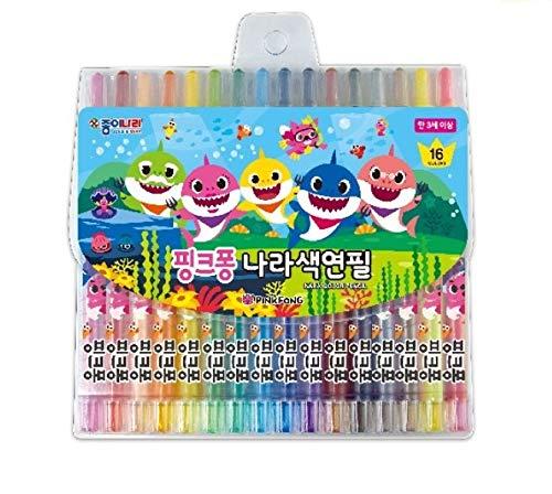 JONGENARA Pink Fong NARA 16 Color Pencil