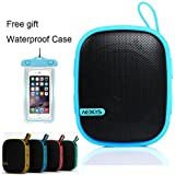 Outdoor Bluetooth Speaker, AEDILYS Best Portable Outdoor and Shower Bluetooth Speaker by AYL Sound Fit, Waterproof...
