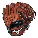 Mizuno Prospect Baseball Glove, Chestnut, Youth/Kids, 10