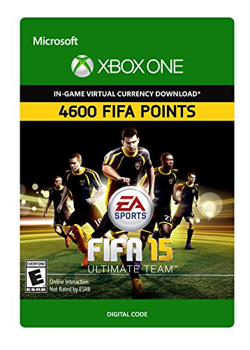 FIFA 15: 4600 Points - Xbox One Digital Code (Fifa 15 Download Game)