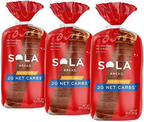 Sola Golden Wheat Bread – Low Carb, Low