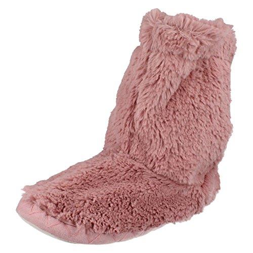 Spot On , Damen Hausschuhe Dusty Pink